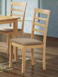 Jídelní čalouněná židle VILLACH buk/hnědá