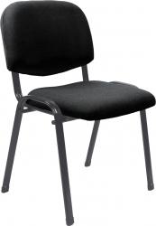 Konferenční židle ISO 2 NEW stohovatelná, černá