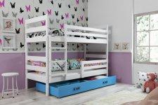 Patrová postel Norbert bílá/modrá