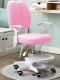 Dětská rostoucí židle ANAIS růžová/bílá