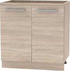 Spodní kuchyňská skříňka NOVA PLUS NOPL-060-0S, 80 2 DV, dub sonoma