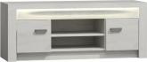 Televizní stolek RTV INFINITY I-09, jasan bílý