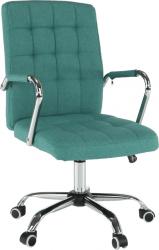 Kancelářská židle MORGEN, azurová zelená