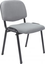 Konferenční židle ISO 2 NEW stohovatelná, šedá