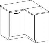 Kuchyňská rohová spodní skříňka CHAMONIX II DRP, pravá
