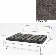 Čalouněná postel AVA CHELLO 180x200, OCEAN 796