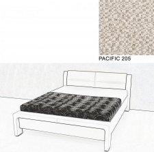 Čalouněná postel AVA CHELLO 160x200, PACIFIC 205