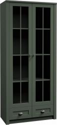 Vitrína PROVANCE W2S, zelená
