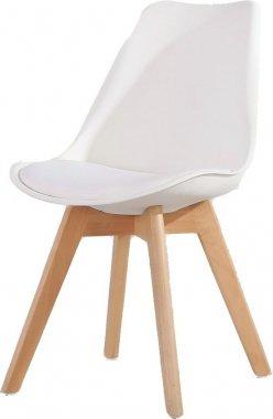 Jídelní židle CROSS bílá