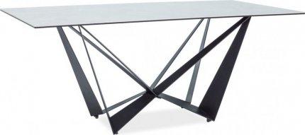 Jídelní stůl ASTON II černá/ceramic
