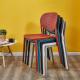 Židle, žlutá, FEDRA