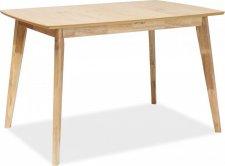 Jídelní stůl rozkládací BRANDO dub 120x80