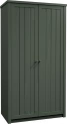 Šatní skříň PROVANCE S2D, zelená