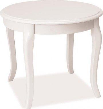 ROYAL konferenční stolek kulatý - bílá (ROYALDB) (S) (K150-Z)