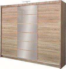 Šatní skříň MALIBU dub sonoma