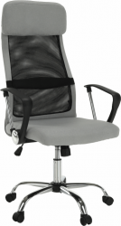 Kancelářská židle FABRY NEW, šedá/černá