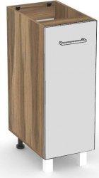 Spodní kuchyňská skříňka REA ALFA KDV-30-72 s výsuvným košem, OŘECH ROCKPILE