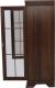 Vitrína KORA KK7 s barovou skříňkou, samoa king