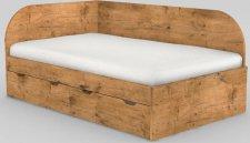 Dětská postel REA GARY 120x200 s úložným prostorem, levá, LANCELOT