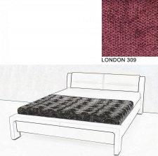 Čalouněná postel AVA CHELLO 180x200, LONDON 309