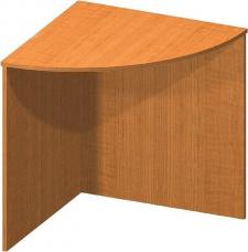 Stůl rohový obloukový třešeň, TEMPO ASISTENT NEW 024
