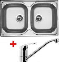 Sinks CLASSIC 800 DUO V+PRONTO - CL800VPRCL
