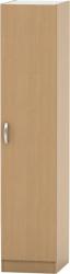 Šatní skříň BETTY 2, 1-dveřová skříň, buk, BE02-006-00