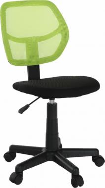 Dětská židle MESH, zelená/černá