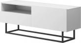 Televizní stolek RTV SPRING ERTVSZ120 bez podstavy, bílá