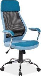 Kancelářské křeslo Q-336 modrá