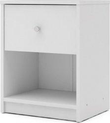 Noční stolek Myra 331 bílý