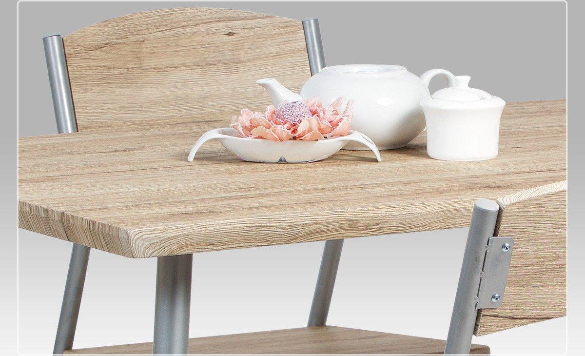 set 1 4 dekor san remo st brn lak jimmy sre. Black Bedroom Furniture Sets. Home Design Ideas