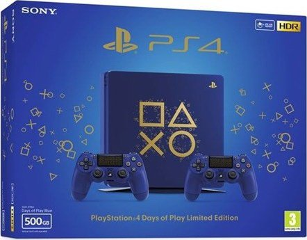 SONY PS4 Slim 500GB+DS4 Days of Play SE