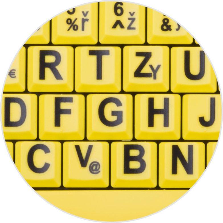... zrakově CONNECT IT Klávesnice CI-44 kontrastní b77da5cdf4