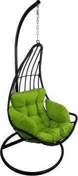 Závěsné relaxační křeslo ELZA - zelený sedák ETP-DL01HT-Z