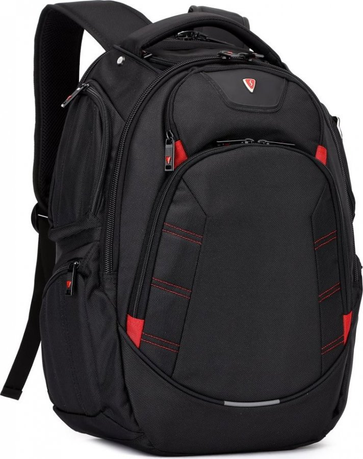 1c8369d15 SUMDEX RED(S) batoh pro notebook BP-303BK/ 15-16
